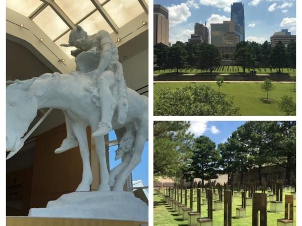 The sites of Oklahoma