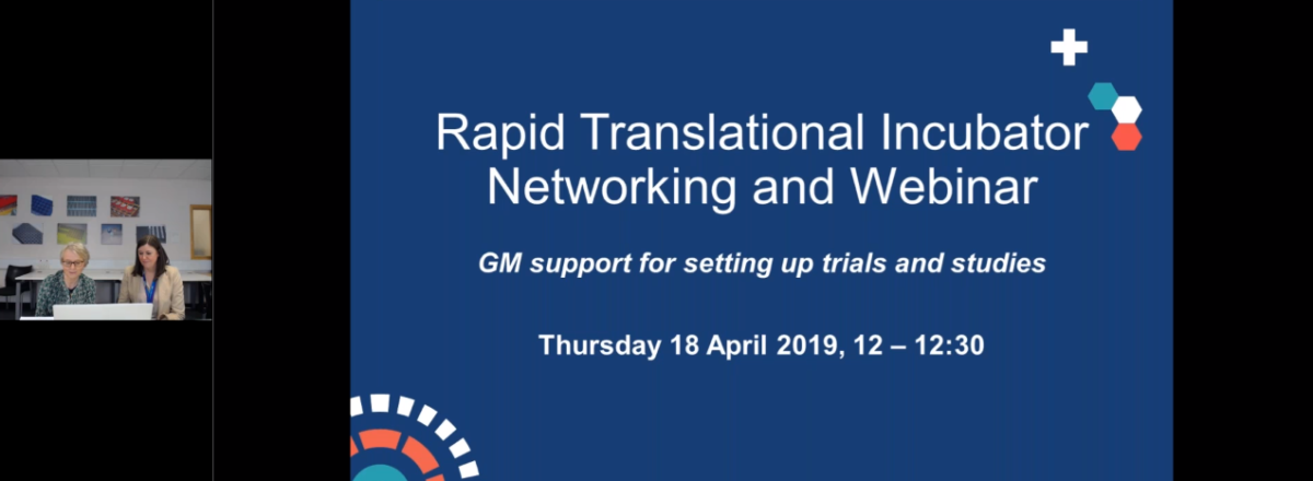 GM support available for setting up trials and studies, April 2019