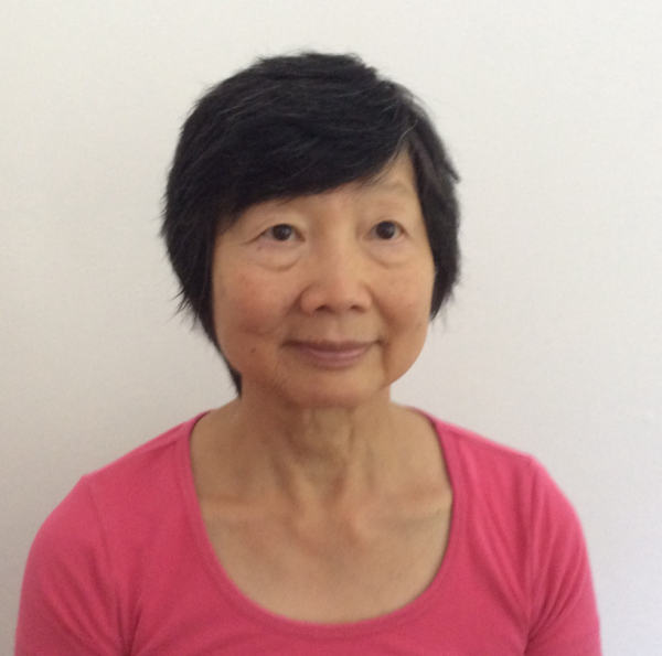 Portrait photo of Emily Lam, 70, former nurse and breast cancer patient