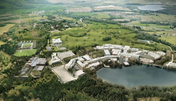 Alderley Park, home to the CRUK Manchester Institute Cancer Biomarker Centre
